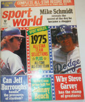 Sport World Magazine Mike Schmidt Johnny Bench August 1975 121014R2
