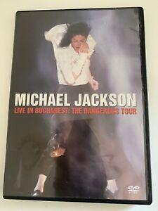 Michael Jackson Live in Bucharest Dangerous Tour DVD Region 0 PAL VGC Concert