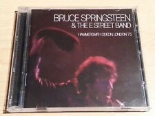 BRUCE SPRINGSTEEN & THE E STREET BAND HAMMERSMITH ODEON LONDON CD 2 DISCS VGC.