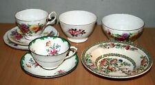 Vintage Collection Johnson Br Queen Anne Sugar Bowl Cups Plate Bowl China Chintz