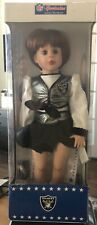 NFL CHEERLEADERS AMERICA'S SWEETHEARTS OAKLAND RAIDERS SAMANTHA DOLL COLLECTABLE