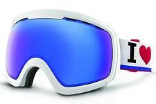 Von Zipper Goggles FEENOM NLS White Gloss - Sky Chrome Lens GMSNCFEN_WSC