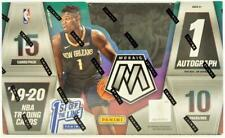 2019/20 Panini Mosaic Fotl 1St Off The Line Basketball Hobby Box