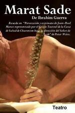 Ibrahim Guerra, Teatro: Marat Sade : Basado en Persecucion y Asesinato de...
