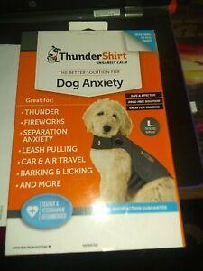 Thundershirt for Dog Anxiety Large Gray