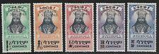 ETHIOPIA 1943 OBELISK Set Scott #258-262 MLH