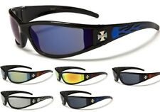 lunettes moto motard de soleil sport biker croix conduite malte choppers CH99MIX