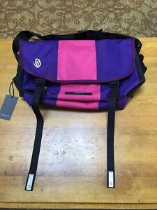 Timbuktu Timbuk2 Pink Blueberry Laptop Messenger Bag Commuter Cycling Bag Rare