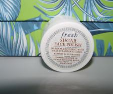 Fresh SUGAR FACE POLISH Natural Exfoliant w/Strawberry Seeds 20 g / .6 oz Travel