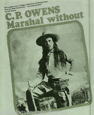 C.P. Owens - Marshal Of New Mexico Territory +Genealogy