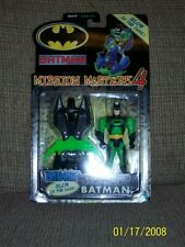 Hasbro Batman Mission Masters 4 with vehicles