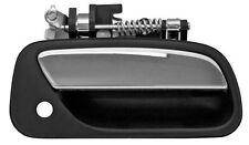 Outside Door Handle Chrome Black 93-98 TOYOTA T100 RightFront(Passenger)