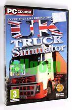 Gioco PC CD-ROM UK TRUCK SIMULATOR Excalibur Publishing 2010