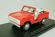NEO SCALE MODELS 1/43 FORD BRONCO ROADSTER 1967 ROJO RED MINIATURE MODEL CAR