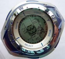 Mercedes Benz Electronic Digital Compass Stopwatch LCD Sport Chronograph Watch
