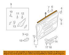 MITSUBISHI OEM Lancer Front Door Window Sweep-Belt Molding Weatherstrip 5706A339