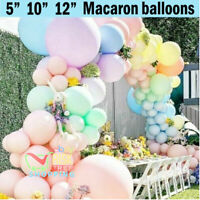 """10-50 Pastel Latex Balloons Macaron Candy Many Colour 10"""" Balloons Party UK"""