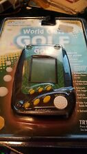Radica World Class Golf New Electronic Handheld Game Three Courses Swing Color
