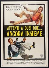 MANIFESTO, ATTENTI A QUEI DUE ANCORA INSIEME The Persuaders MOORE, CURTIS POSTER