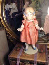 """~ Sweet! Antique German Bisque 8"""" LIMBACH Girl Doll ~"""