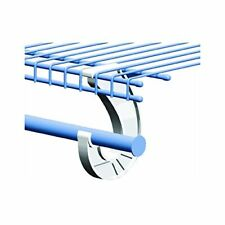ClosetMaid 5629 Support for SuperSlide Hanging Bar, White 2-Pack