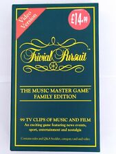 The Trivial Pursuit Music Master Game - Video Version (VHS)