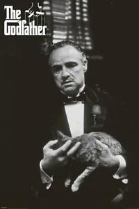 DER PATE GODFATHER FILMPOSTER DON VITO CORLEONE CAT