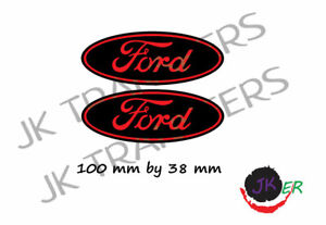 Ford badge decal sticker