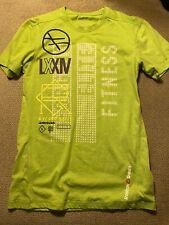 Mens Reebok Crossfit Shirt Green Small S