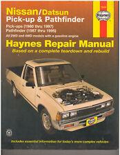 Haynes Repair Manual : Nissan/Datsun Pick-up & Pathfinder (72030) {D1262}