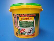 Sera Pond Color Sticks Pellet Food 550g