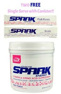 AdvoCare Spark Canister 42 Servings 10.5oz 12 Flavors Free Shipping