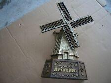 Vintage Imported Heineken Beer Windmill Sign