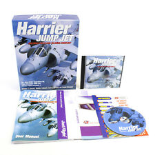 Harrier Jump Jet for PC CD-ROM in Big Box by Just Flight, 2001, VGC, CIB