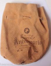"Pampero Aniversario Reserve Exclusive Ron Anejo Leather Bag 5x7"" Drawstring C932"