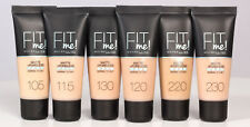 Maybelline Fit Me Matte & Poreless Foundation 10+ shades available FAST DESPATCH
