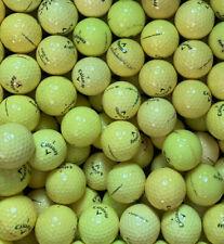 50 gelbe Callaway Golfbälle AAA/AA