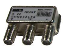 NEU!! GT-Sat DiSEqC 2/1 Schalter mit Wetterschutzkappe Umschalter 2 Satelliten