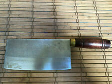 KIN LIH CHINESE CHEFS KNIFE 7 INCH BLADE WITH WOODEN HANDLE