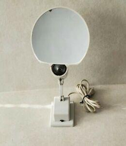 Vintage Floxite Company Mahwah N.J #7 Magnifying Mirror On Off Light 120V - USED
