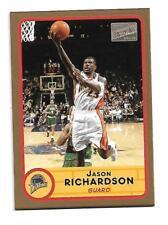 Jason Richardson - 2005-06 bazooka oro paralelo set - #23