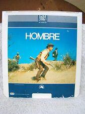 CED VideoDisc Hombre (1966) Paul Newman, 20th Century Fox Video Presents CED