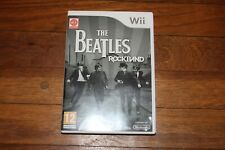 wii The Beatles Rockband Game
