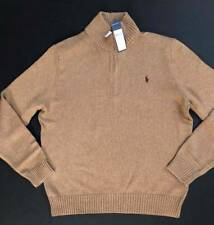 Ralph Lauren Polo Knit Cotton Pullover Sweater Jumper Men Size L NEW