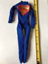 1//6 Scale Custom Black Chrome Superman Body Tight Suit