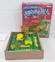 Vintage Tomy Screwball Scramble Marble Race Game 1980s Working in box