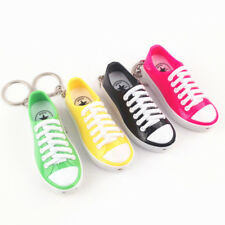 April Fool's Day Shoe Sneaker Toys Tricks Laser Spoofing Shock Keyring
