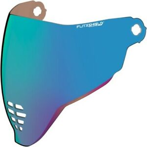 Icon RST Blue Fliteshield Replacement Airflite Shield 0130-0784