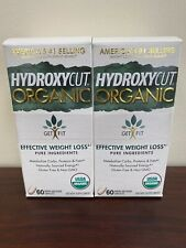 HYDROXYCUT ORAGNIC (2 PACK)   Effective Weight Loss 60 Capsules FREE SHIP
