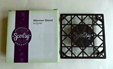 Authentic Scentsy Warmer Stand Square Bronze Metal SHIPS SAME DAY